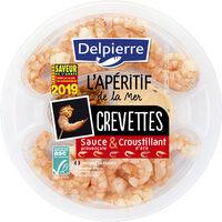 Crevettes sauce et croustillant été - Product - fr