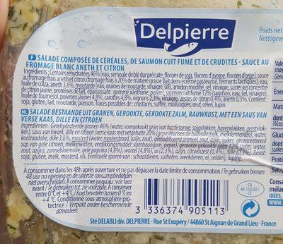Salade du poissonier - Ingrediënten - fr