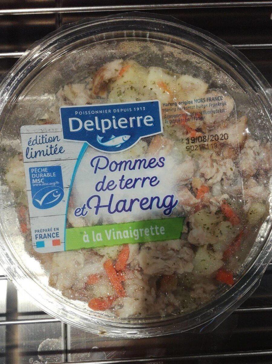 Pommes de terre et hareng à la vinaigrette - Produit - fr