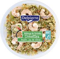 Salade céréales & crevettes - Product - fr
