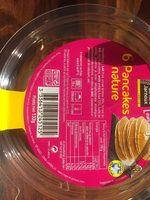6 Pancakes, La Barquette De 132 gr - Nutrition facts