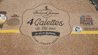 Galettes de blé noir Jarnoux x4 soit - Product - fr