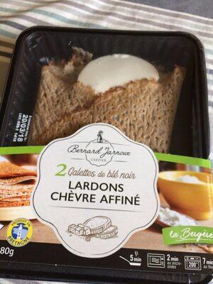 Galette de ble noir lardons chevre affine - Product - fr