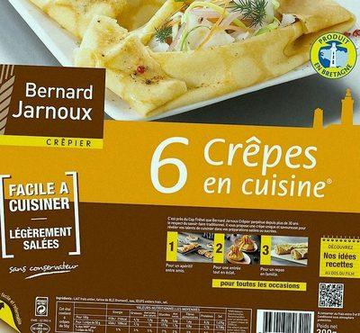 6 Crêpes en Cuisine - Product