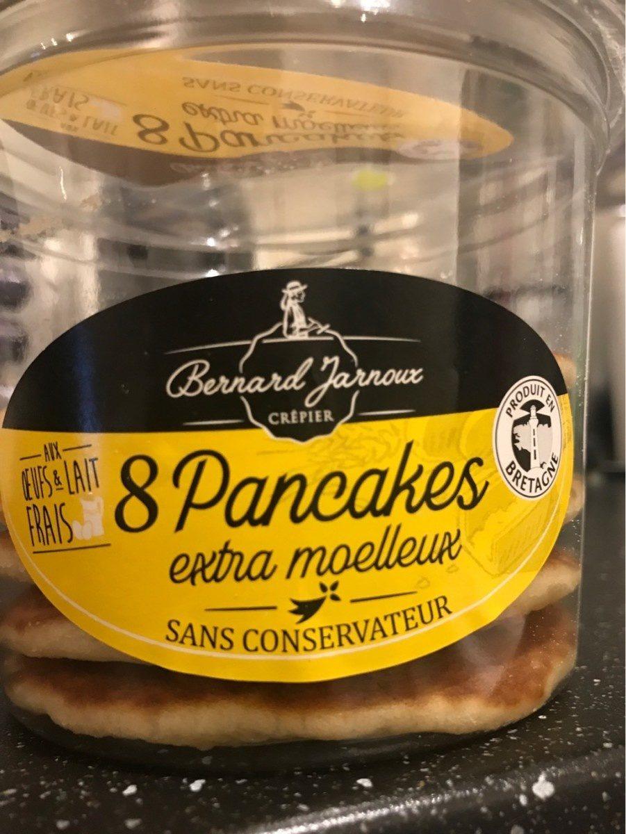 8 pancakes au beurre - Produit