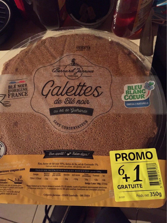 Galette de blé noir au sel de guérande - Product - fr