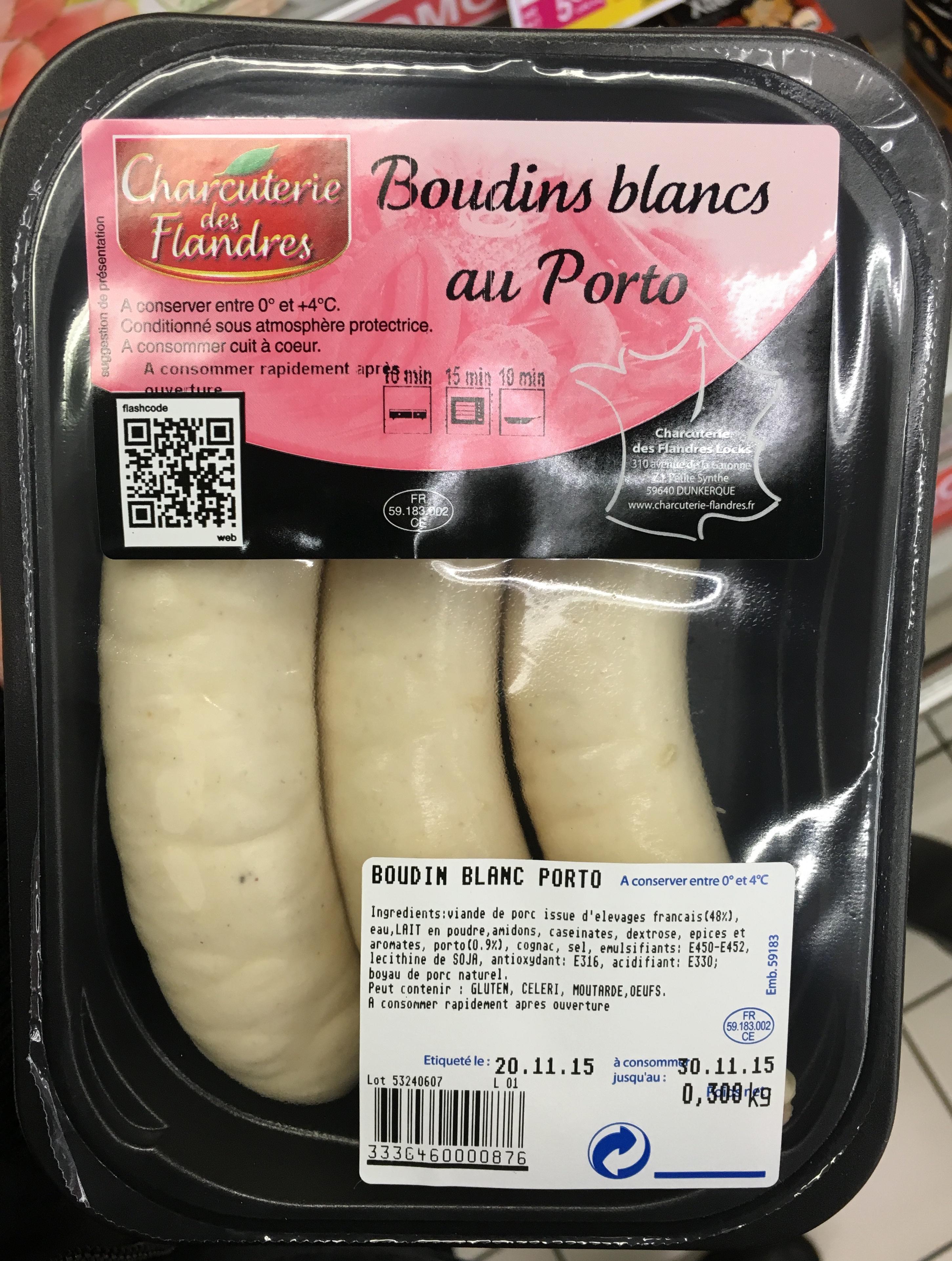 Boudins blancs au Porto - Product - fr