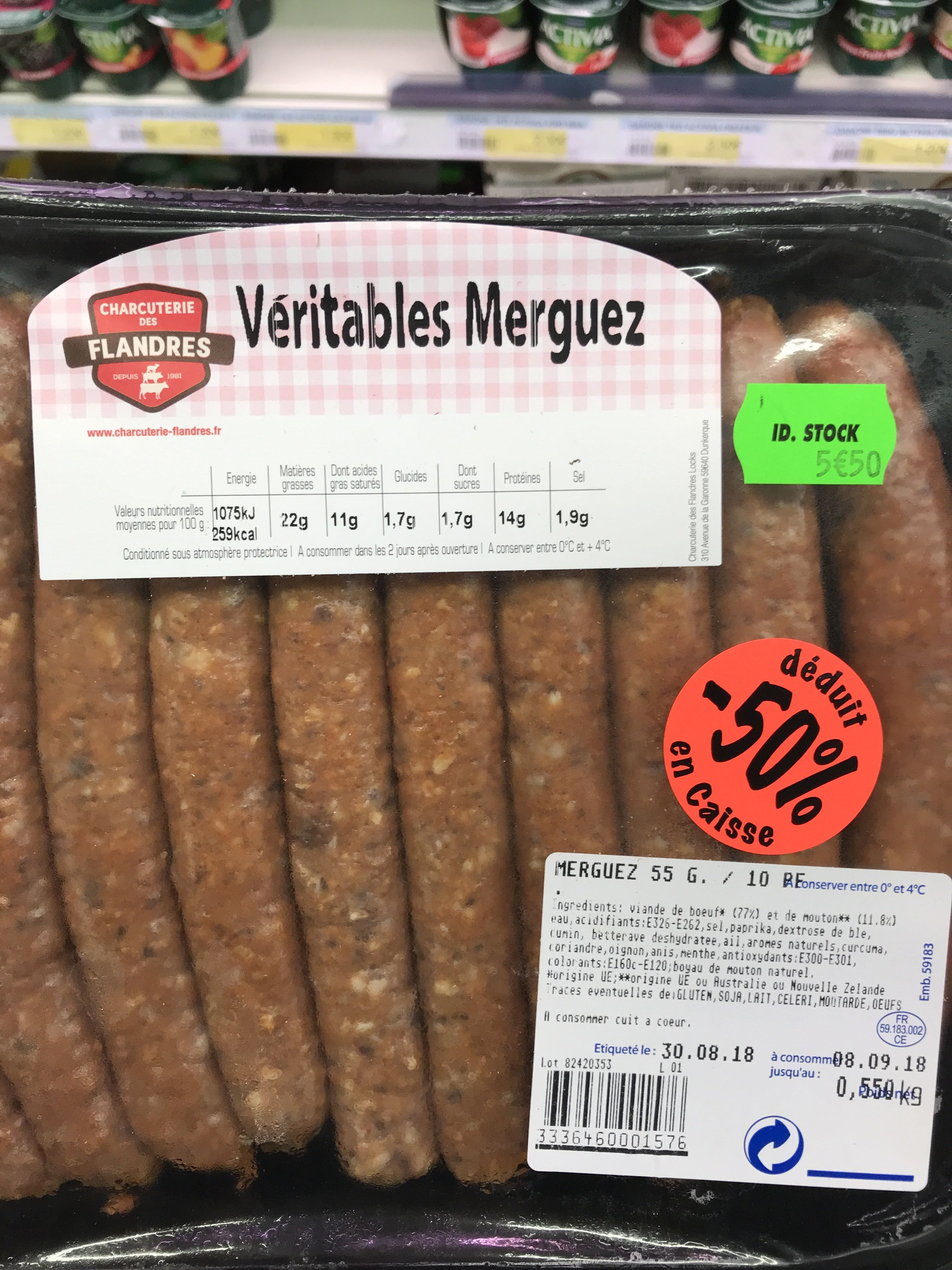 Merguez - Product - fr