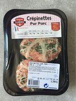 Crépinettes  pur porc - Product - fr