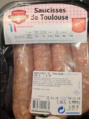 Saucisses de Toulousse - Product - fr