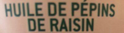 Huile de Pépins de Raisin - Ingrediënten