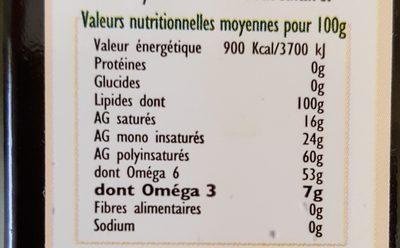 Huile Cauvin Soja - Ingrediënten - fr