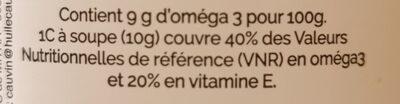 Huile de Colza Bio - Ingredienti - fr