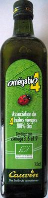 Association de 4 huiles vierges 100% Bio - Product