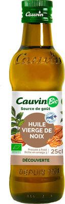 CAUVIN - HUILE VIERGE DE NOIX BIO - Product - fr