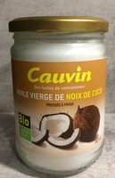 Oil Cauvin Coconut - Product - fr