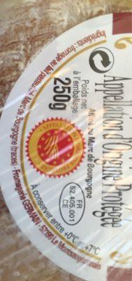 Époisses affiné au marc de Bourgogne - Ingrediënten - fr