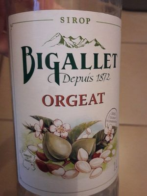 Sirop d'orgeat - Product