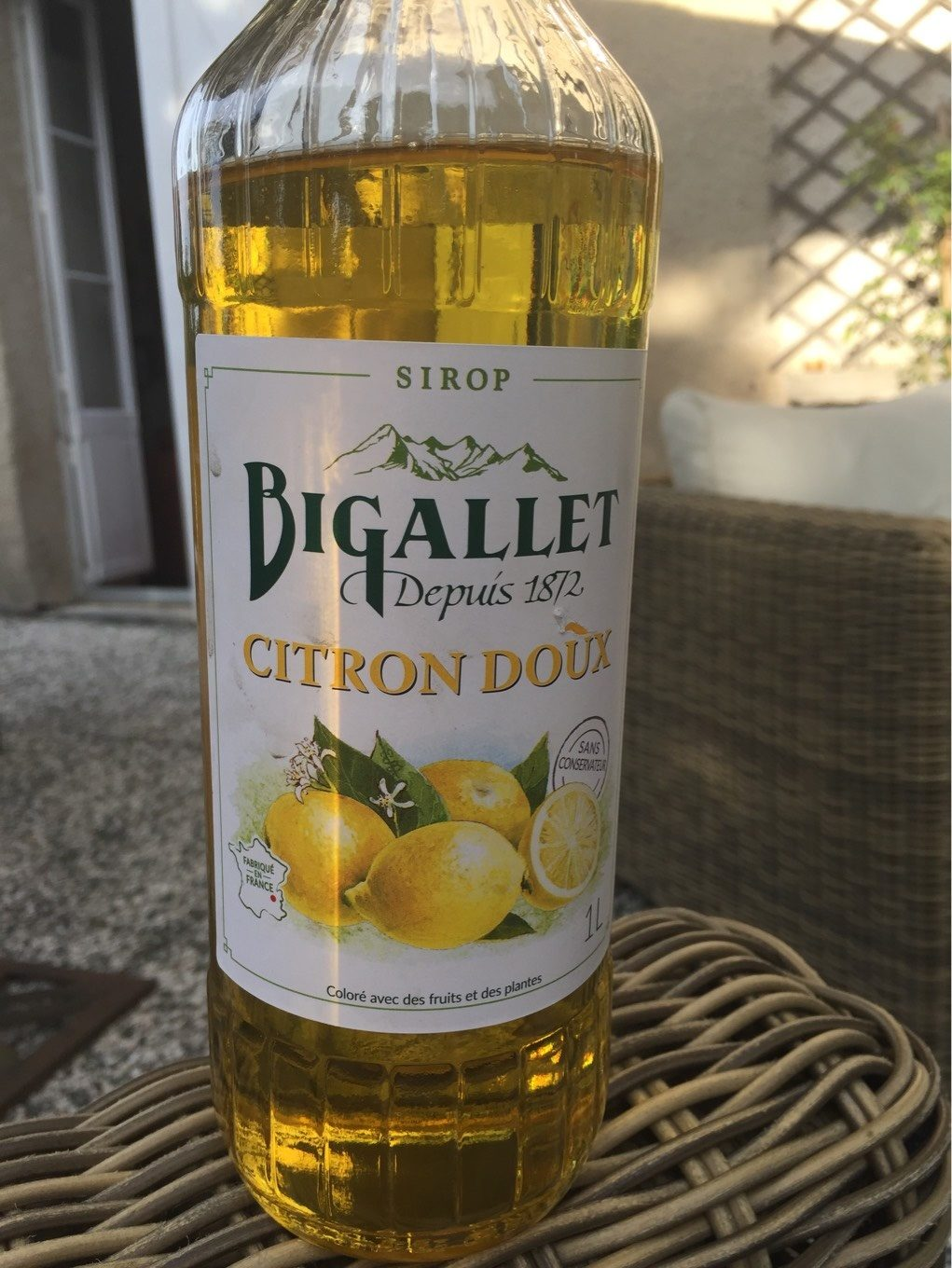Sirop citron doux - Product