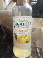 Sirop citron JINOT, 70cl - Product - fr