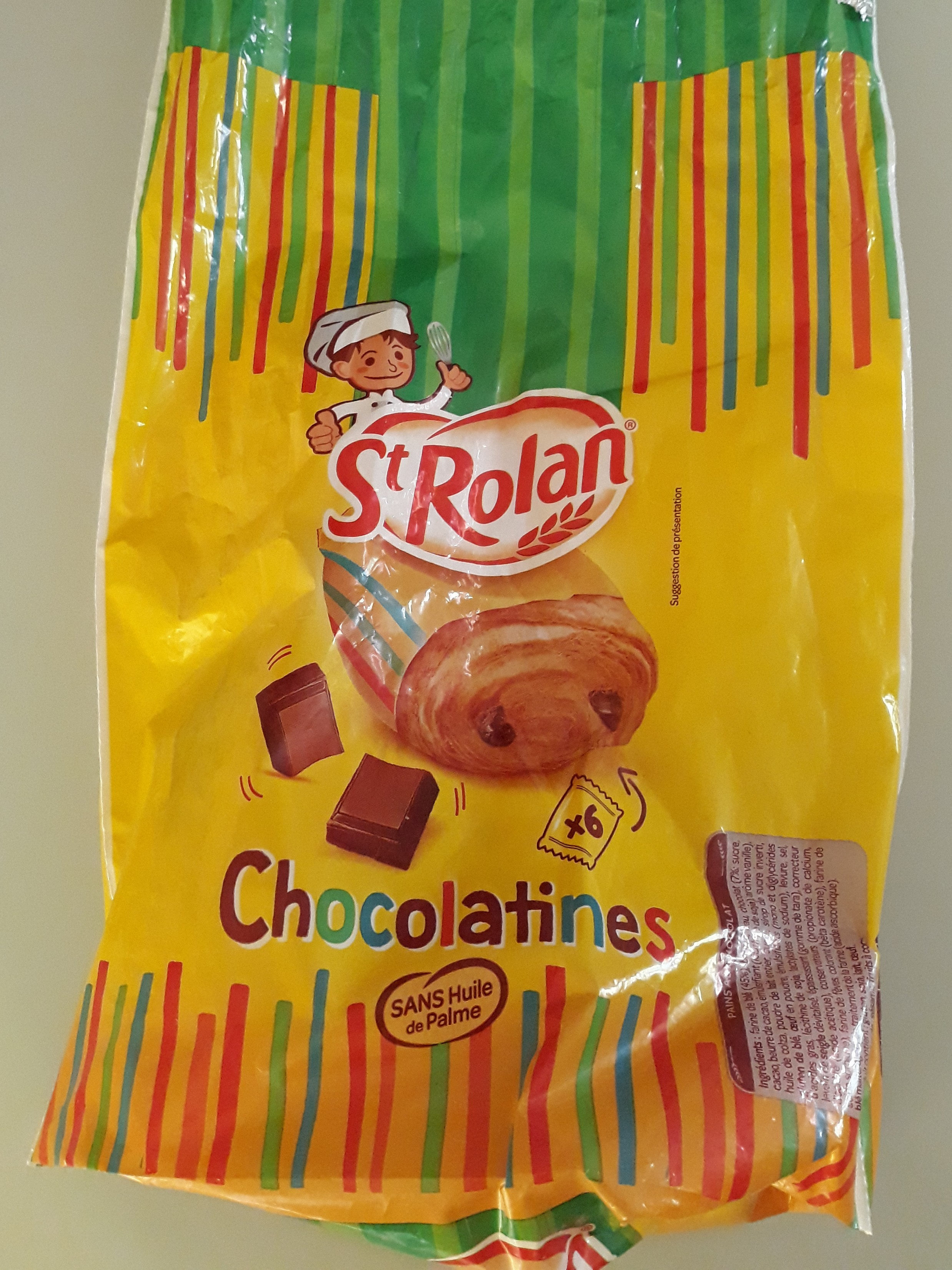 chocolatines - Produit - fr