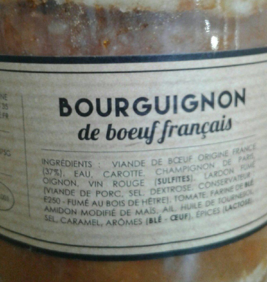 Bourguignon - Ingrediënten
