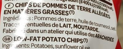 La Légère -30% de M.G. - Ingrédients - fr