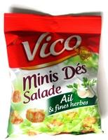 Minis dés salade - Ail et fines herbes - Produit - fr