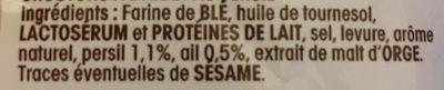 Minis dés salade - Ail et fines herbes - Ingrédients - fr