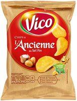 Chips à l'ancienne au sel fin - Product - fr