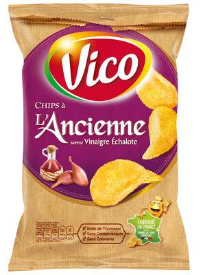 Chips A l'Ancienne, saveur vinaigre échalote - Produit