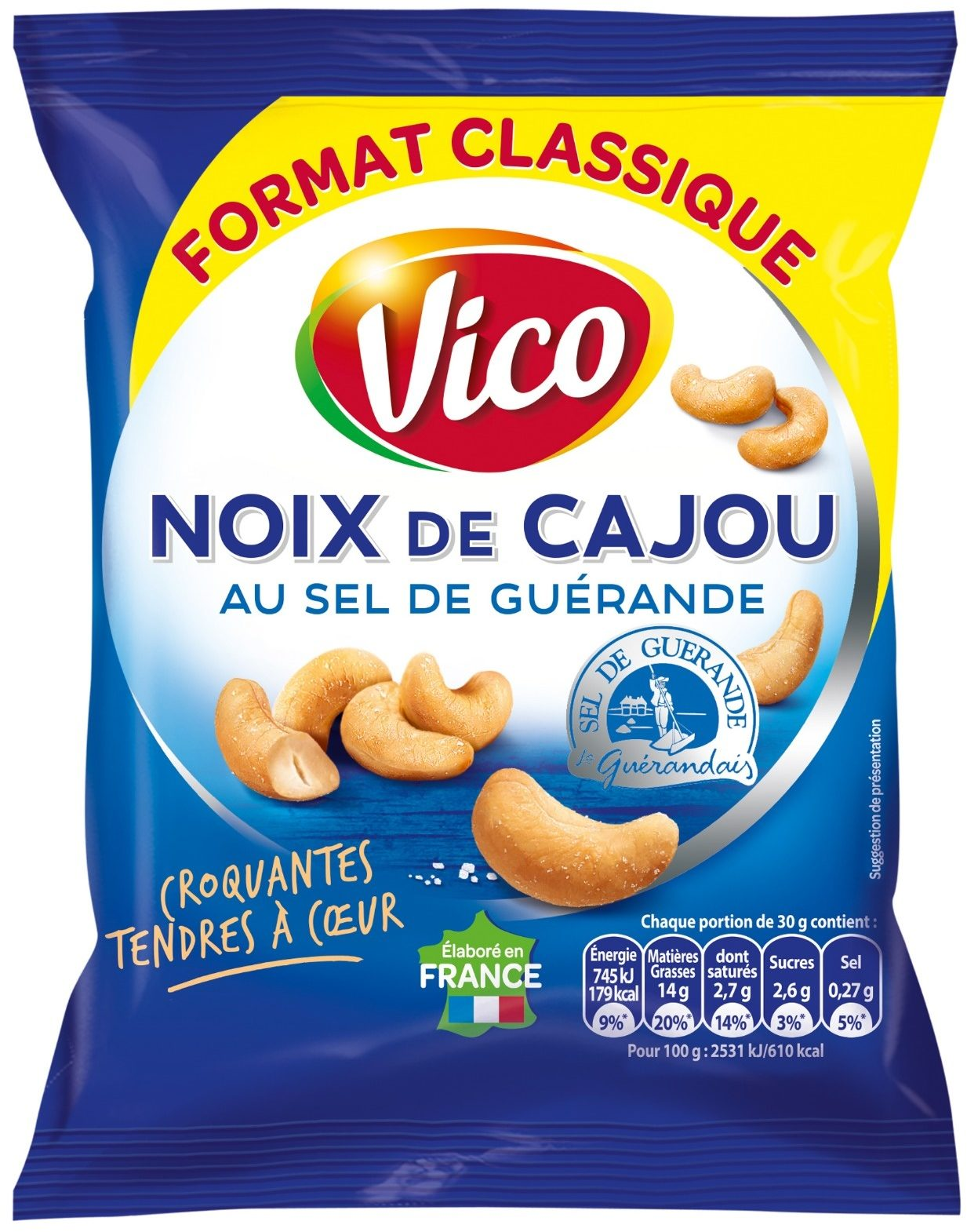 Noix de cajou tendres à coeur - Product