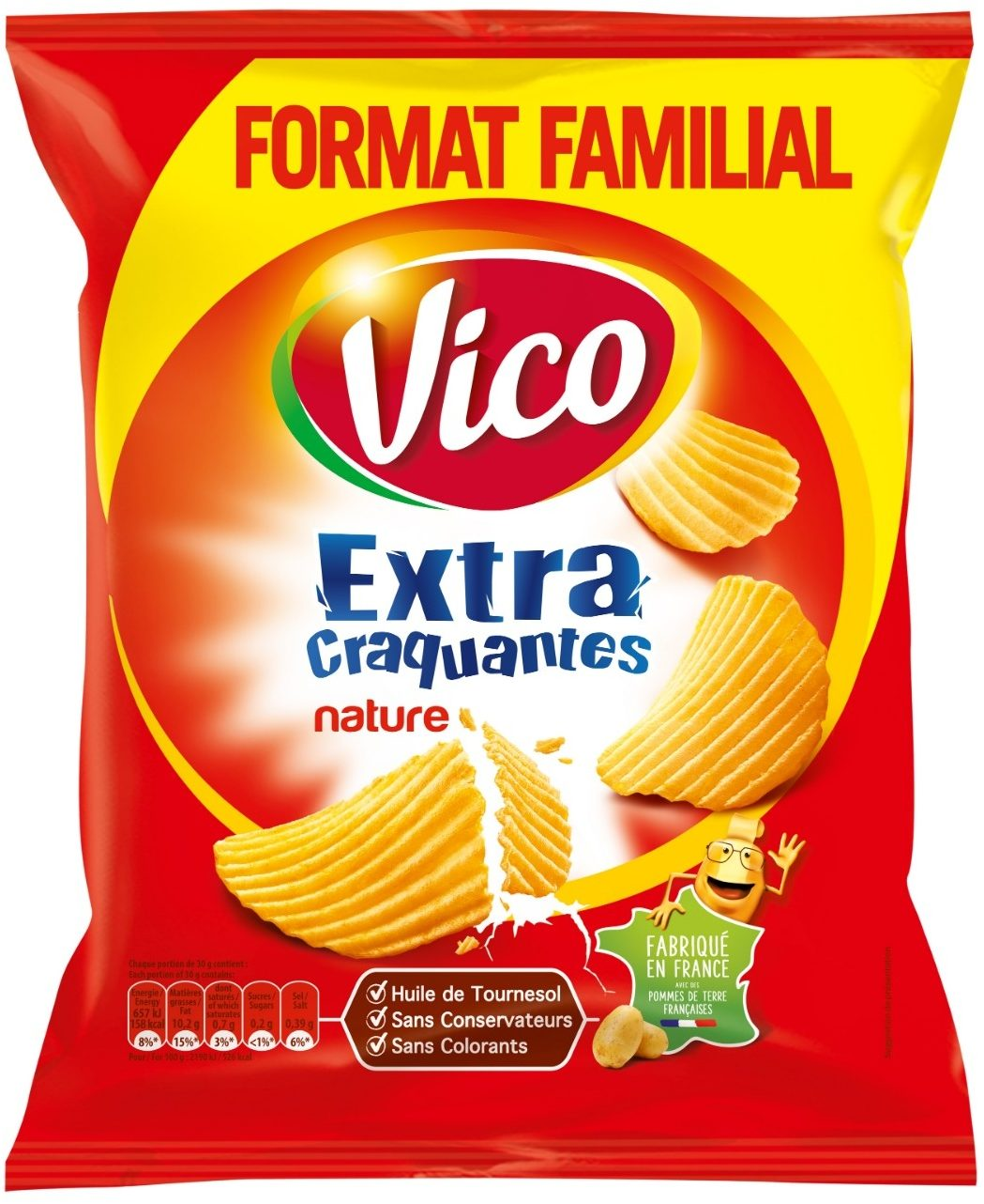 Vico Extra Craquantes 270g - Product