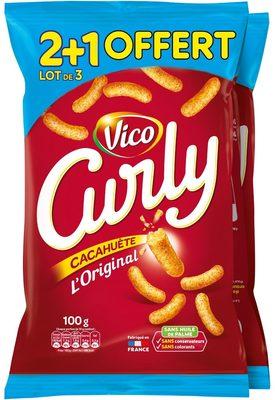 Curly Cacahuète l'Original (lot de 2) - Product