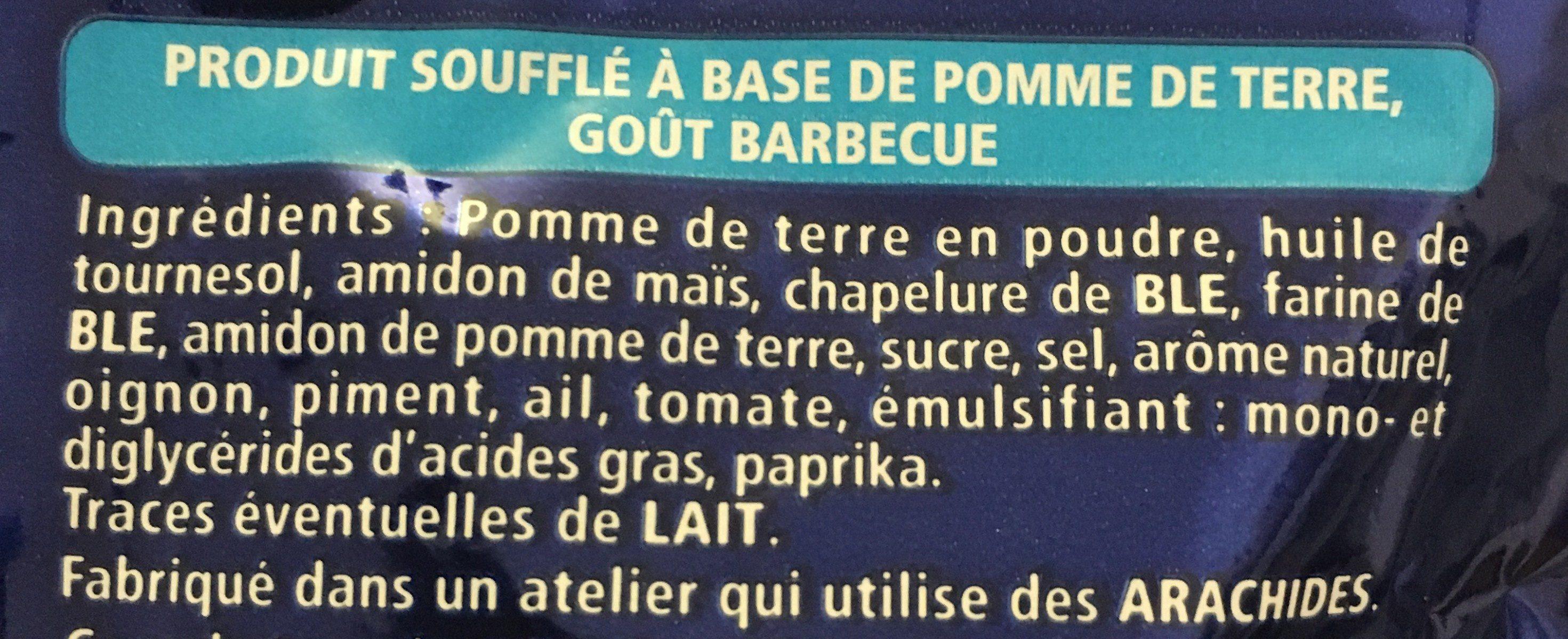 Monster Munch Goût Barbecue 85G - Ingrédients