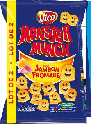 Monster Munch Jambon/Fromage 2x85G - Produit