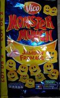 Monster Munch goût Jambon Fromage - Produit - fr