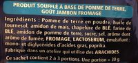 Monster Munch Jambon/Fromage 2x85g - Ingredients