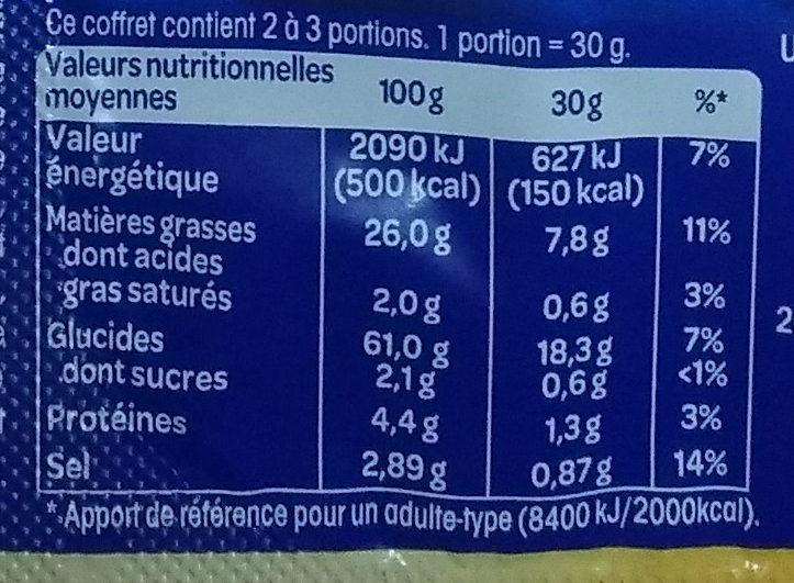 Peppi's Club - Informations nutritionnelles - fr