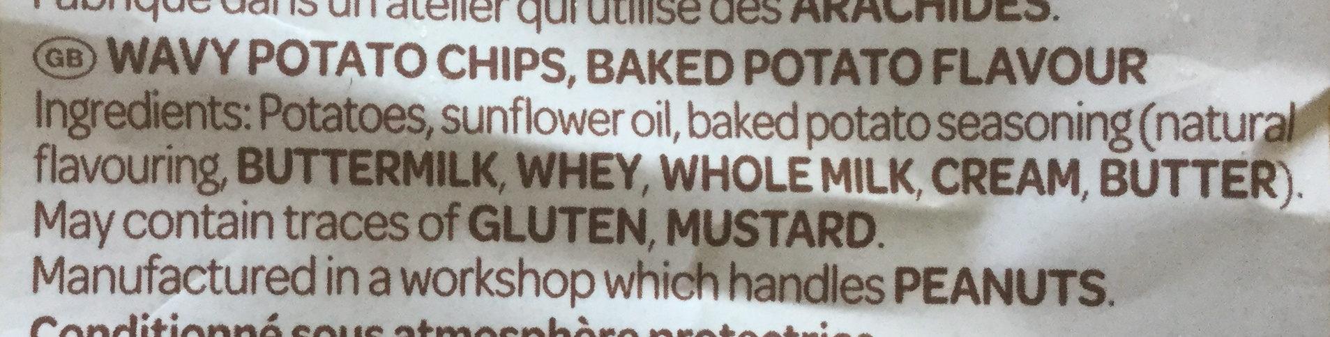 Chips La Gourmande (lot de 2, +10% gratuit) - Ingredients - en