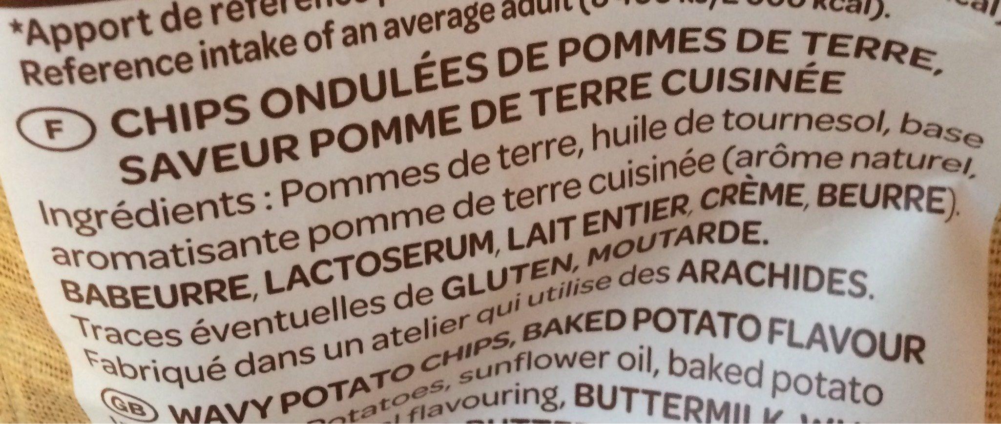 Chips la gourmande - Voedigswaarden