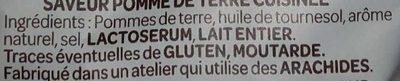 La Savoureuse - Ingrédients - fr