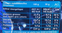 Monster Munch Goût Salé 135g - Informations nutritionnelles - fr