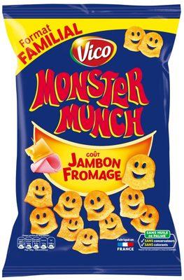 Monster Munch Goût Jambon / Fromage - Product