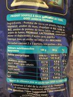Monster Munch Goût Jambon / Fromage - Nutrition facts