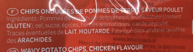 Saveur Poulet grillé - Ingrediënten - fr