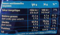 Monster Munch goût Ketchup 135g - Nutrition facts