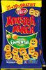 Biscuits apéritif goût emmental Monster Munch - Product