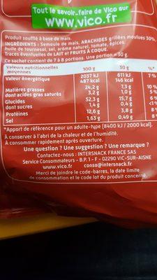 Curly Cacahuète l'Original - Format Party 230 g - Ingrédients