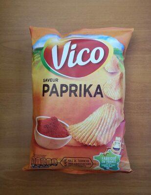 Chips ondulées Vico, saveur Paprika - Produit - fr